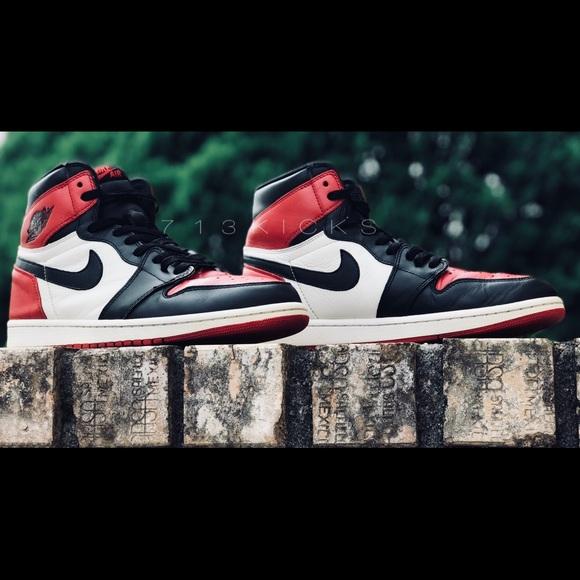 62f5a4a82e5 Jordan Shoes | Nike Air 1 Retro High Og Bred Toe | Poshmark
